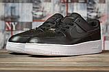Кроссовки женские 16891, Nike Air  AF-1, черные, [ 38 39 40 41 ] р. 38-24,5см., фото 2