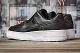 Кроссовки женские 16891, Nike Air  AF-1, черные, [ 38 39 40 41 ] р. 38-24,5см., фото 4