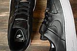 Кроссовки женские 16891, Nike Air  AF-1, черные, [ 38 39 40 41 ] р. 38-24,5см., фото 5