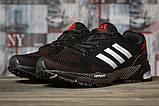 Кроссовки женские 16912, Adidas Marathon Tn, черные, [ 36 37 38 39 ] р. 36-22,7см., фото 2