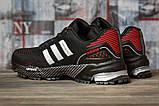 Кроссовки женские 16912, Adidas Marathon Tn, черные, [ 36 37 38 39 ] р. 36-22,7см., фото 4