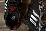 Кроссовки женские 16912, Adidas Marathon Tn, черные, [ 36 37 38 39 ] р. 36-22,7см., фото 5
