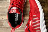 Кроссовки мужские 16464, Yike Running, красные, [ 42 43 44 ] р. 42-27,5см., фото 5