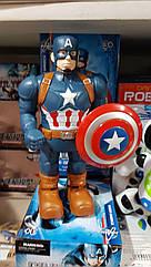 Супергерой фигурка героя Капитан Америка Marvel свет 345-1a
