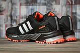 Кроссовки женские 16916, Adidas Marathon Tn, черные, [ 36 38 39 ] р. 36-22,7см., фото 4
