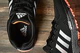 Кроссовки женские 16916, Adidas Marathon Tn, черные, [ 36 38 39 ] р. 36-22,7см., фото 5