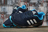 Кроссовки женские 16918, Adidas Marathon Tn, темно-синие, [ 38 ] р. 38-24,3см., фото 3