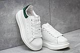 Кроссовки женские 14753, Alexander McQueen Oversized Sneakers, белые, [ 37 ] р. 37-22,6см., фото 3