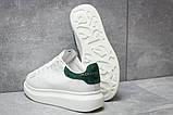 Кроссовки женские 14753, Alexander McQueen Oversized Sneakers, белые, [ 37 ] р. 37-22,6см., фото 4