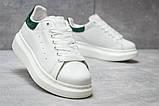 Кроссовки женские 14753, Alexander McQueen Oversized Sneakers, белые, [ 37 ] р. 37-22,6см., фото 5