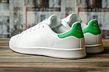 Кроссовки мужские 16481, Adidas Stan Smith, белые, [ 46 ] р. 46-29,5см., фото 4