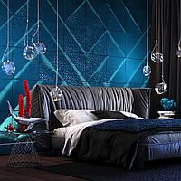 Декоративный рельефные 3д панели из гипса РИФ