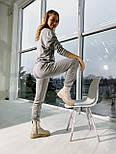 Стильный костюм спортивный женский на флисе, фото 6