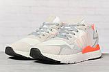 Кроссовки мужские 17301, Adidas 3M, белые, [ 41 43 44 45 46 ] р. 41-25,2см., фото 2
