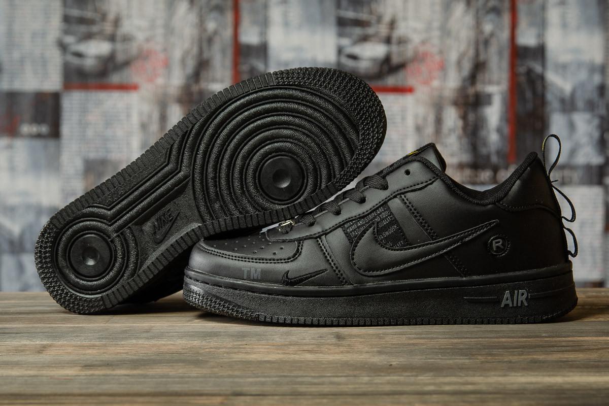 Кроссовки женские 16692, Nike Air, черные, [ 36 38 ] р. 36-22,5см.