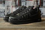 Кроссовки женские 16692, Nike Air, черные, [ 36 38 ] р. 36-22,5см., фото 2
