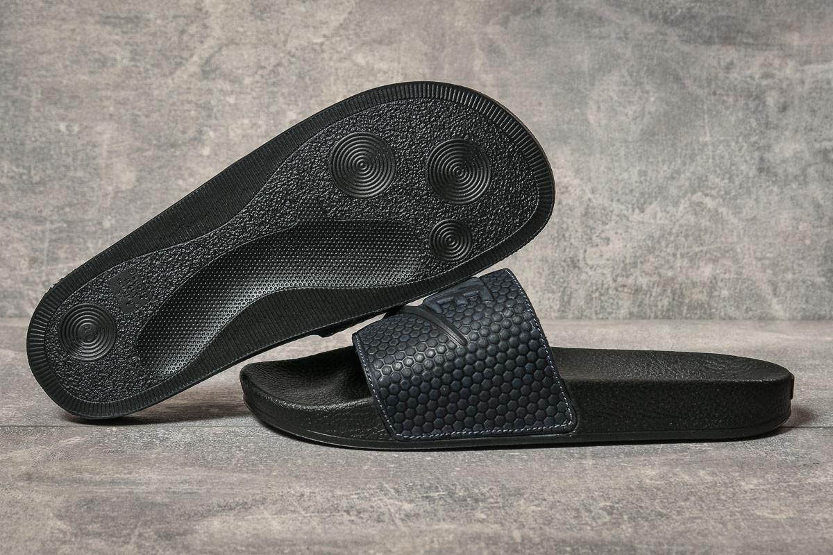 Шлепанцы мужские 17581, Nike, темно-синие, [ 41 42 43 44 45 ] р. 41-27,5см.