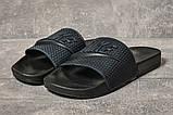 Шлепанцы мужские 17581, Nike, темно-синие, [ 41 42 43 44 45 ] р. 41-27,5см., фото 2