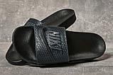 Шлепанцы мужские 17581, Nike, темно-синие, [ 41 42 43 44 45 ] р. 41-27,5см., фото 3