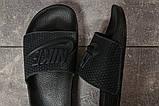 Шлепанцы мужские 17581, Nike, темно-синие, [ 41 42 43 44 45 ] р. 41-27,5см., фото 5