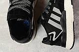 Кроссовки женские 17311, Adidas 3M, черные, [ 36 37 38 39 40 41 ] р. 36-22,3см., фото 5