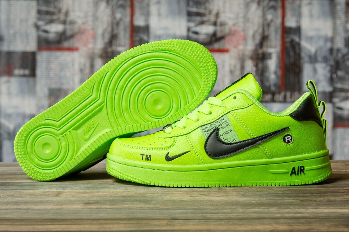 Кроссовки женские 16697, Nike Air, зеленые, [ 36 ] р. 36-22,5см.