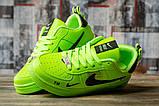 Кроссовки женские 16697, Nike Air, зеленые, [ 36 ] р. 36-22,5см., фото 3
