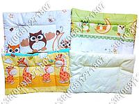 Детская подушка для новорожденных 40х60 в кроватку (много расцветок)