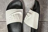 Шлепанцы мужские 17583, Nike, белые, [ 40 42 43 ] р. 40-26,7см., фото 5