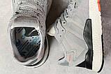 Кроссовки женские 17316, Adidas 3M, серые, [ 36 37 38 39 41 ] р. 36-22,3см., фото 5