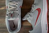 Кроссовки мужские 17022, Nike Running, серые, [ 42 44 ] р. 42-26,7см., фото 5