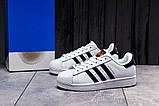 Кроссовки женские 17821, Adidas Superstar, белые, [ 36 39 ] р. 36-23,0см., фото 2