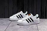 Кроссовки женские 17821, Adidas Superstar, белые, [ 36 39 ] р. 36-23,0см., фото 4