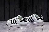 Кроссовки женские 17821, Adidas Superstar, белые, [ 36 39 ] р. 36-23,0см., фото 5