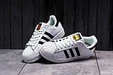Кроссовки женские 17821, Adidas Superstar, белые, [ 36 39 ] р. 36-23,0см., фото 7