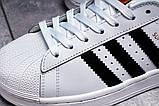 Кроссовки женские 17821, Adidas Superstar, белые, [ 36 39 ] р. 36-23,0см., фото 8