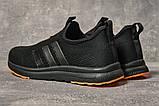 Кроссовки женские 17605, Adidas sport, черные, [ 39 41 ] р. 39-25,5см., фото 4
