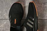 Кроссовки женские 17605, Adidas sport, черные, [ 39 41 ] р. 39-25,5см., фото 5