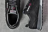 Кроссовки мужские 17681, Reebok Classic, черные, [ 40 44 ] р. 40-26,5см., фото 5