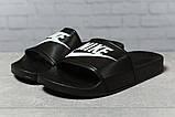 Шлепанцы женские 17352, Nike, черные, [ 38 ] р. 38-24,0см., фото 2
