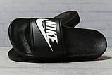 Шлепанцы женские 17352, Nike, черные, [ 38 ] р. 38-24,0см., фото 3
