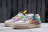 Кроссовки женские 20022, Nike Air Force 1, бежевые, [ 36 37 ] р. 36-22,5см., фото 2