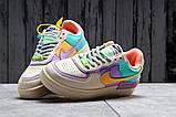 Кроссовки женские 20022, Nike Air Force 1, бежевые, [ 36 37 ] р. 36-22,5см., фото 3
