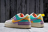 Кроссовки женские 20022, Nike Air Force 1, бежевые, [ 36 37 ] р. 36-22,5см., фото 4