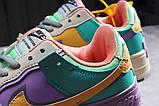 Кроссовки женские 20022, Nike Air Force 1, бежевые, [ 36 37 ] р. 36-22,5см., фото 9