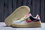 Кроссовки женские 20031, Nike Air Force 1, бежевые, [ 36 37 38 ] р. 36-22,5см., фото 2