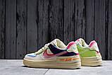 Кроссовки женские 20031, Nike Air Force 1, бежевые, [ 36 37 38 ] р. 36-22,5см., фото 5