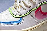 Кроссовки женские 20031, Nike Air Force 1, бежевые, [ 36 37 38 ] р. 36-22,5см., фото 6