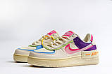 Кроссовки женские 20031, Nike Air Force 1, бежевые, [ 36 37 38 ] р. 36-22,5см., фото 9