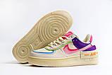 Кроссовки женские 20031, Nike Air Force 1, бежевые, [ 36 37 38 ] р. 36-22,5см., фото 10
